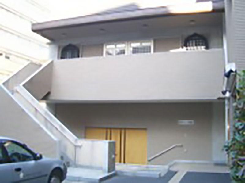 芝浄苑 管理事務所入口