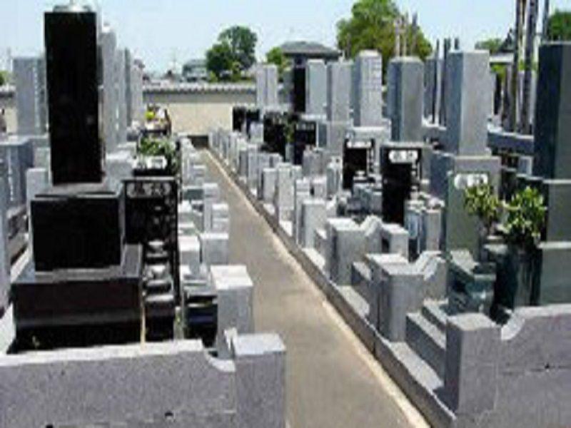さくら聖地霊園 和型の墓石が建立