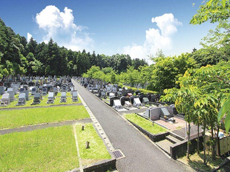 佐倉やすらぎの郷 自然に囲まれた墓域