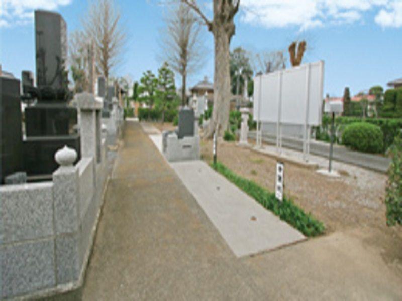 熊谷霊園見性院墓地 販売中の区画