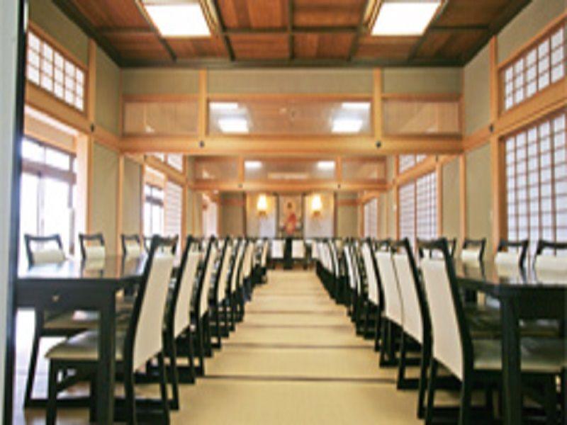 熊谷霊園見性院墓地 法要施設の内観