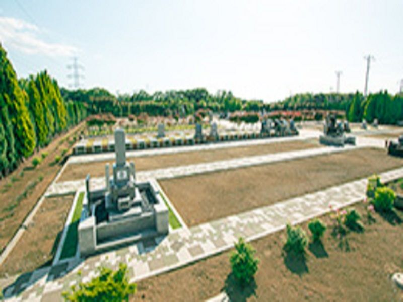 市原うぐいす公苑の区画イメージ