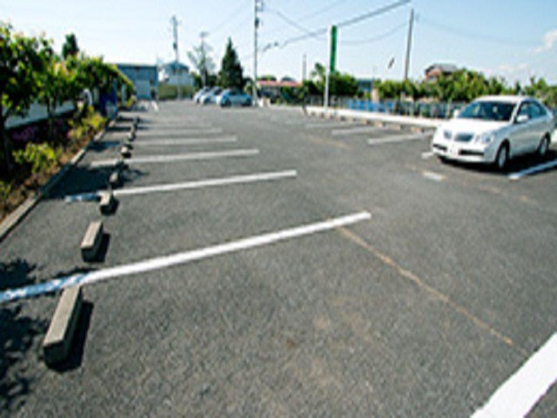 市原うぐいす公苑の駐車場
