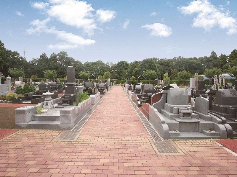 ガーデンニュータウン霊園 園内風景