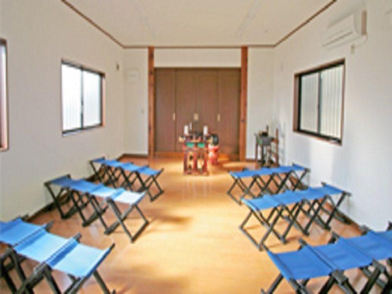 熊谷ひばりの森霊園 法要室も完備