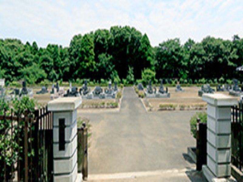 清寂の杜 歓喜院霊園 石門の入り口