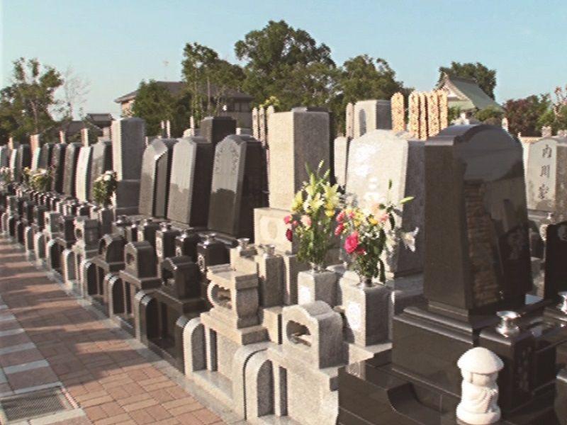 よしかわ聖地霊園グリーンピアの墓地区画