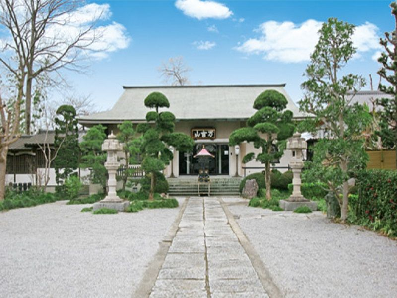 熊谷霊園見性院墓地 見性院 外観