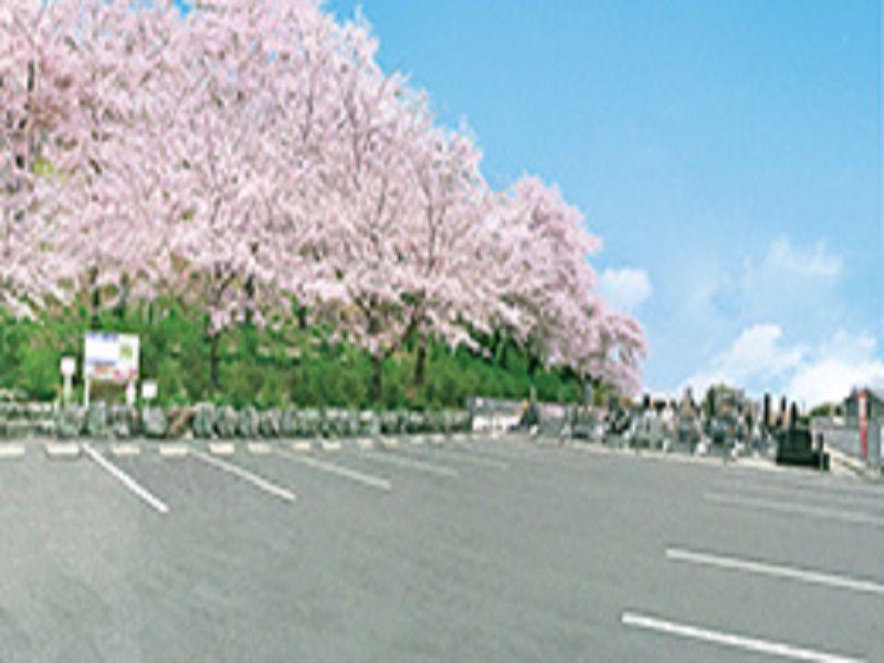 熊谷深谷霊園 龍泉寺 広いバリアフリー駐車場