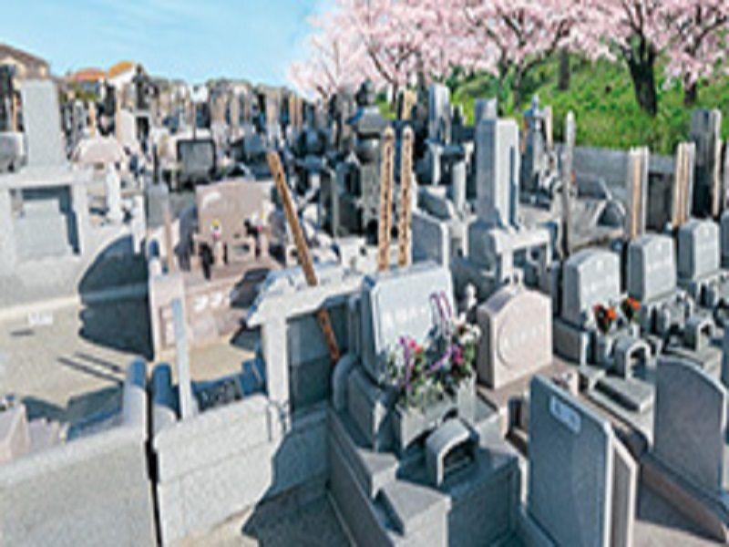 熊谷深谷霊園 龍泉寺 日当たりのよい墓域