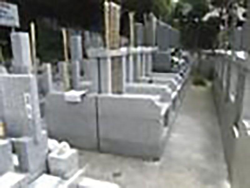 心岩寺 整備された墓域