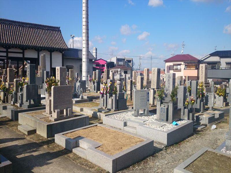 伊賀共同墓地 整備された区画