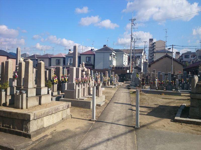 伊賀共同墓地 日当たり良好な墓地
