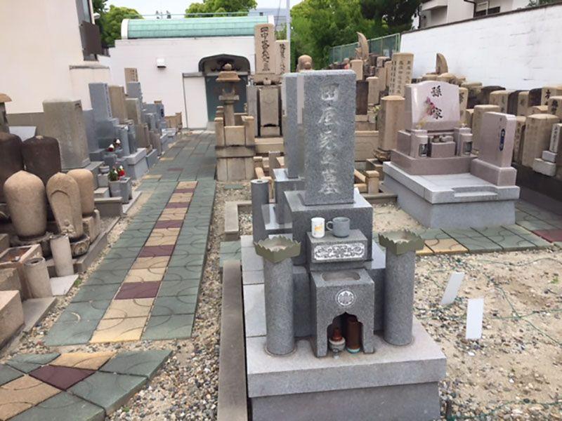 瑞雲山 顯祥寺 和型・洋型墓石