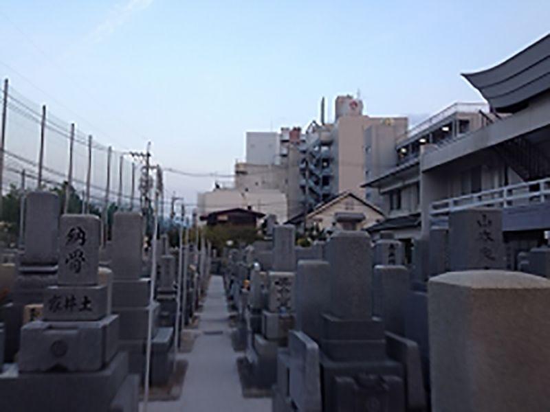専光寺墓苑の園内風景⑫