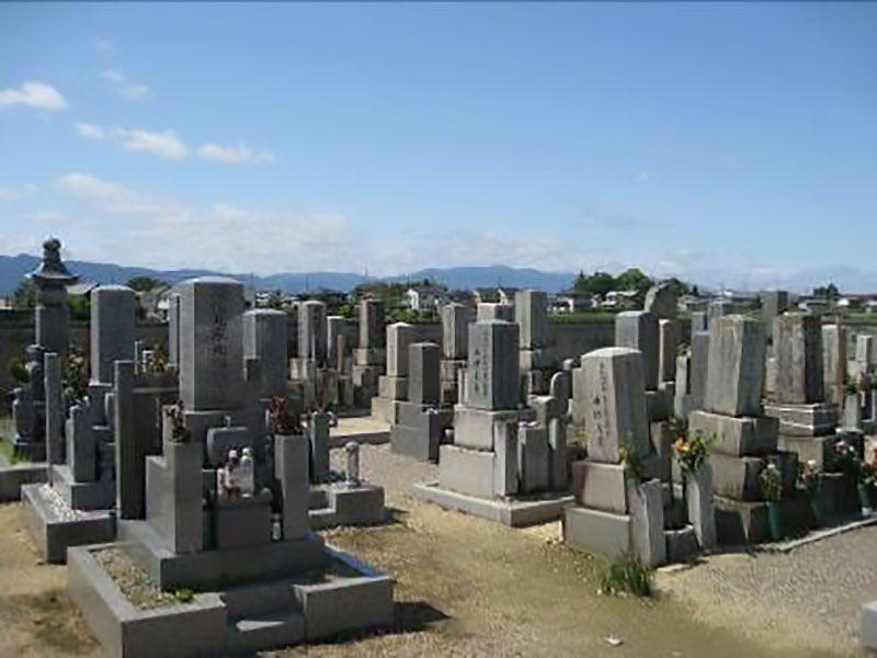 妙楽寺中堂墓地