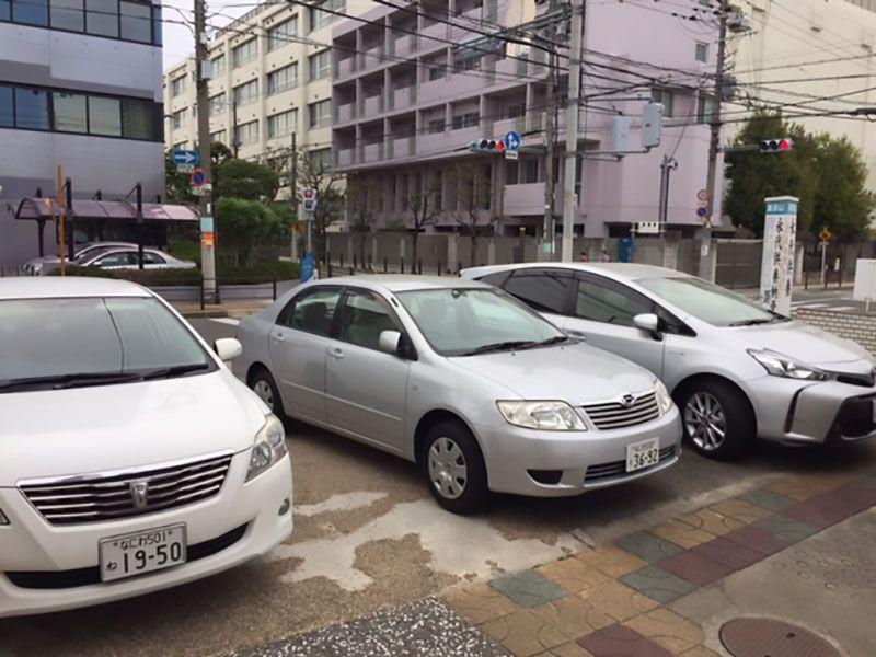 瑞雲山 顯祥寺 駐車スペース