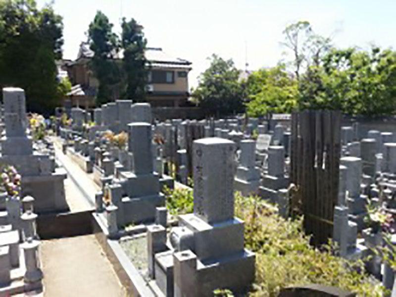 願成寺墓地