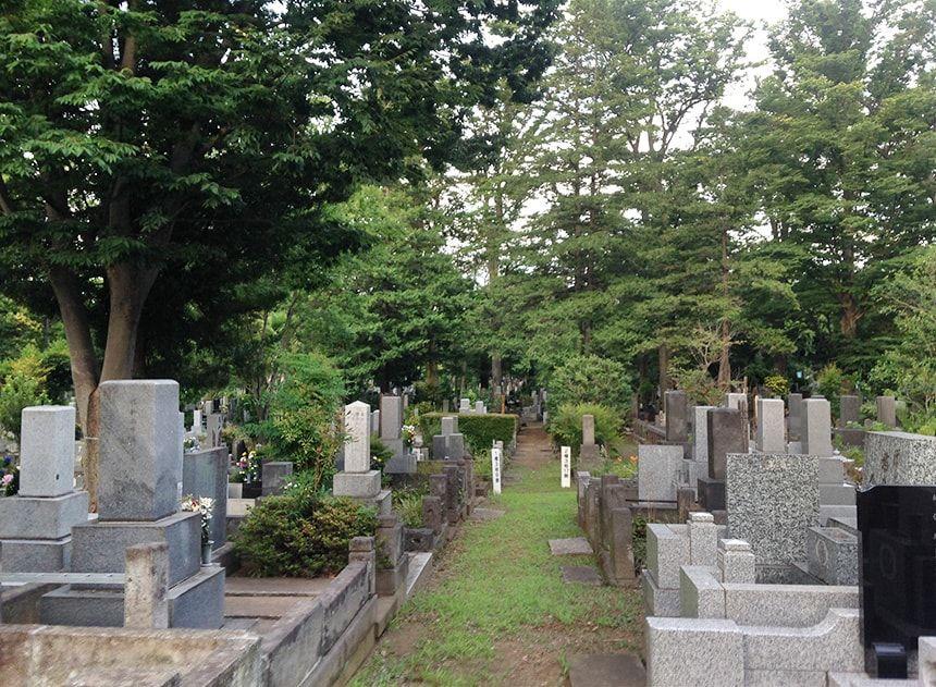 雑司ヶ谷霊園15