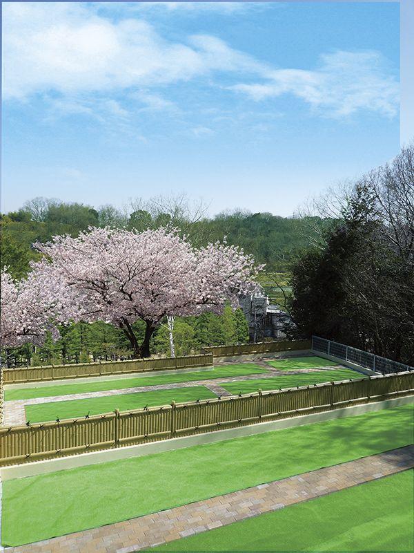 パークフォレスト鉢ヶ峯 園内はバリアフリー設計
