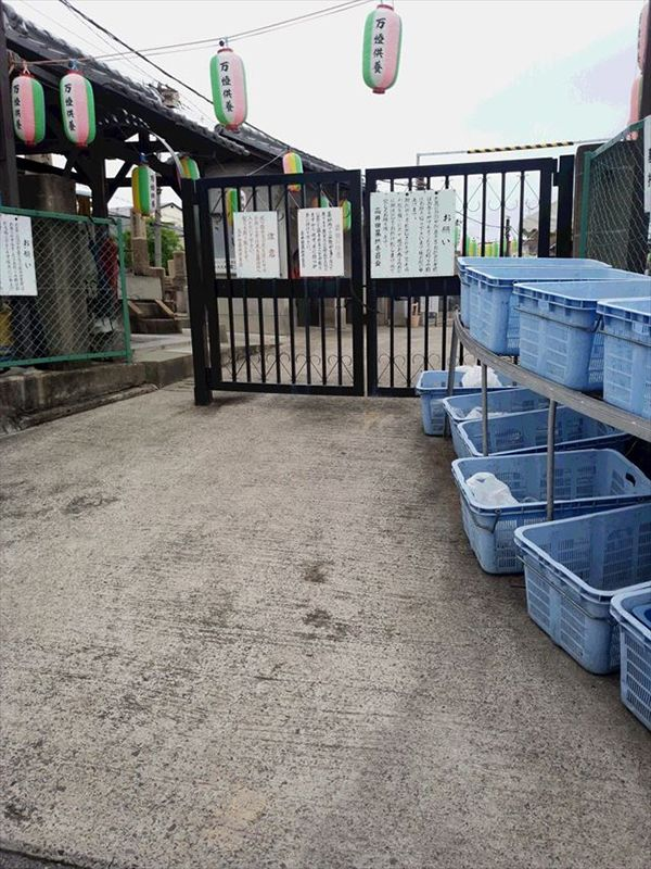 高井田共同墓地
