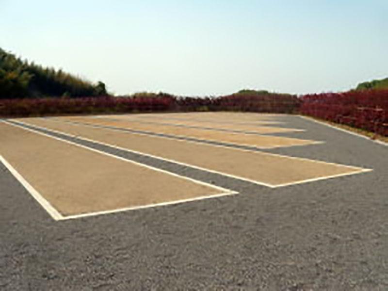貝塚市公園墓地 整備された区画