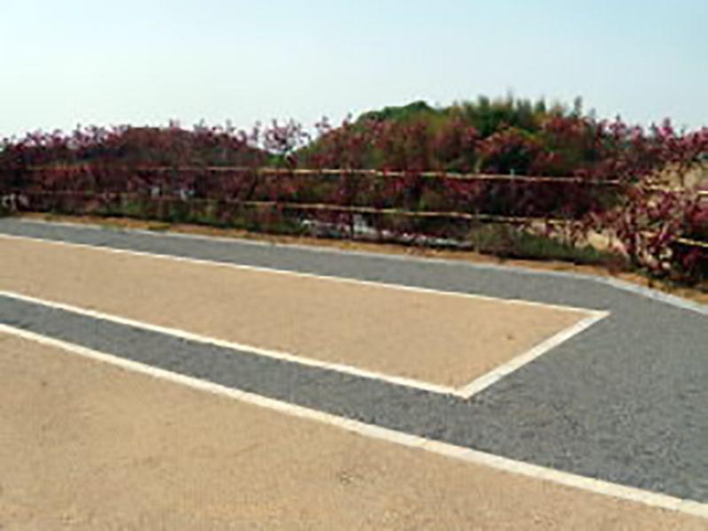 貝塚市公園墓地 手入れされた植栽